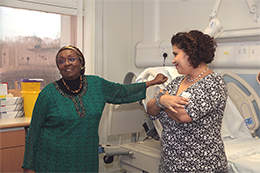 Edna Adan Ismail's inspirational visit to Maternity - Read the article