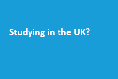 Studying in the UK?