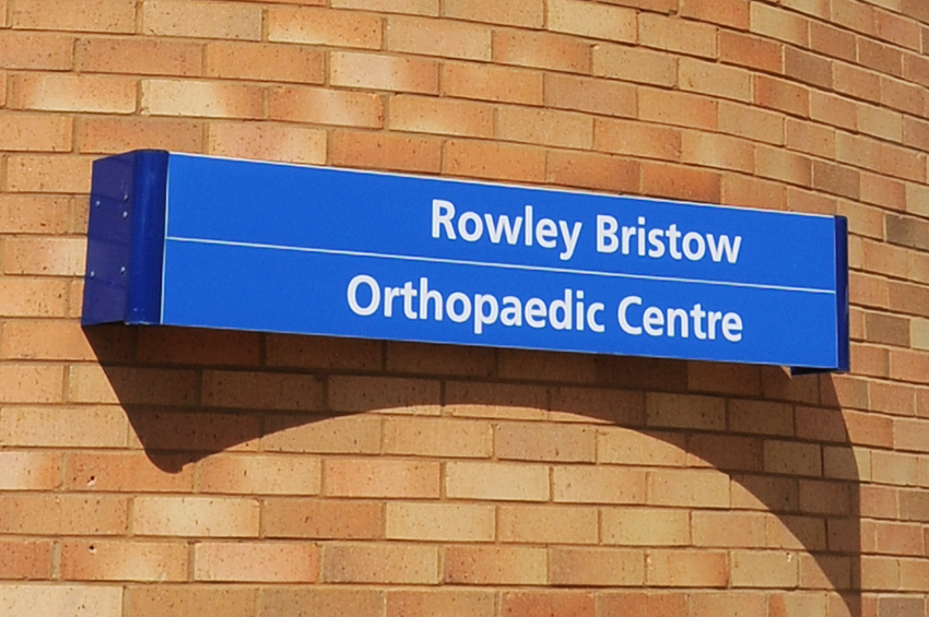 Outside our orthopaedic unit