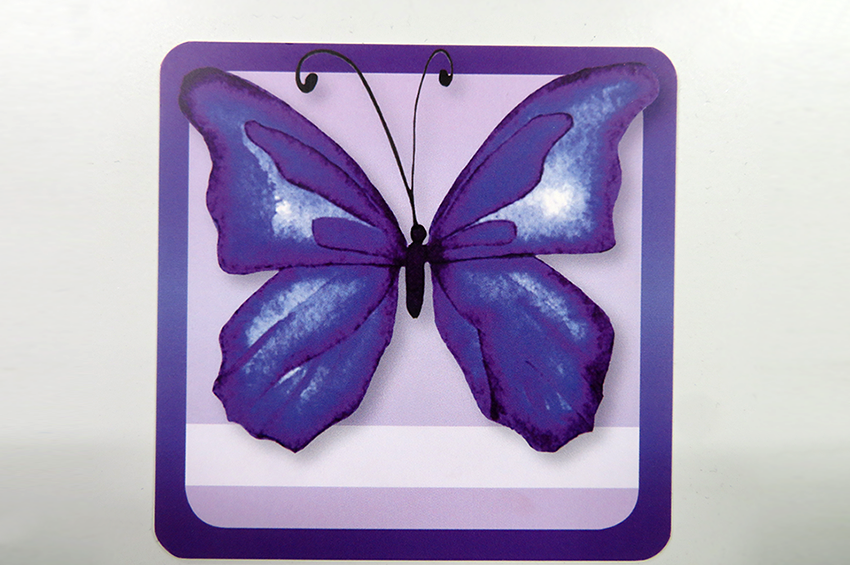 The neonatal butterfly symbol